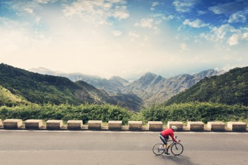 вело-спорт-велосипедист-велосипедный-парк-рурал-анага-Тенерифе-Канарские-острова